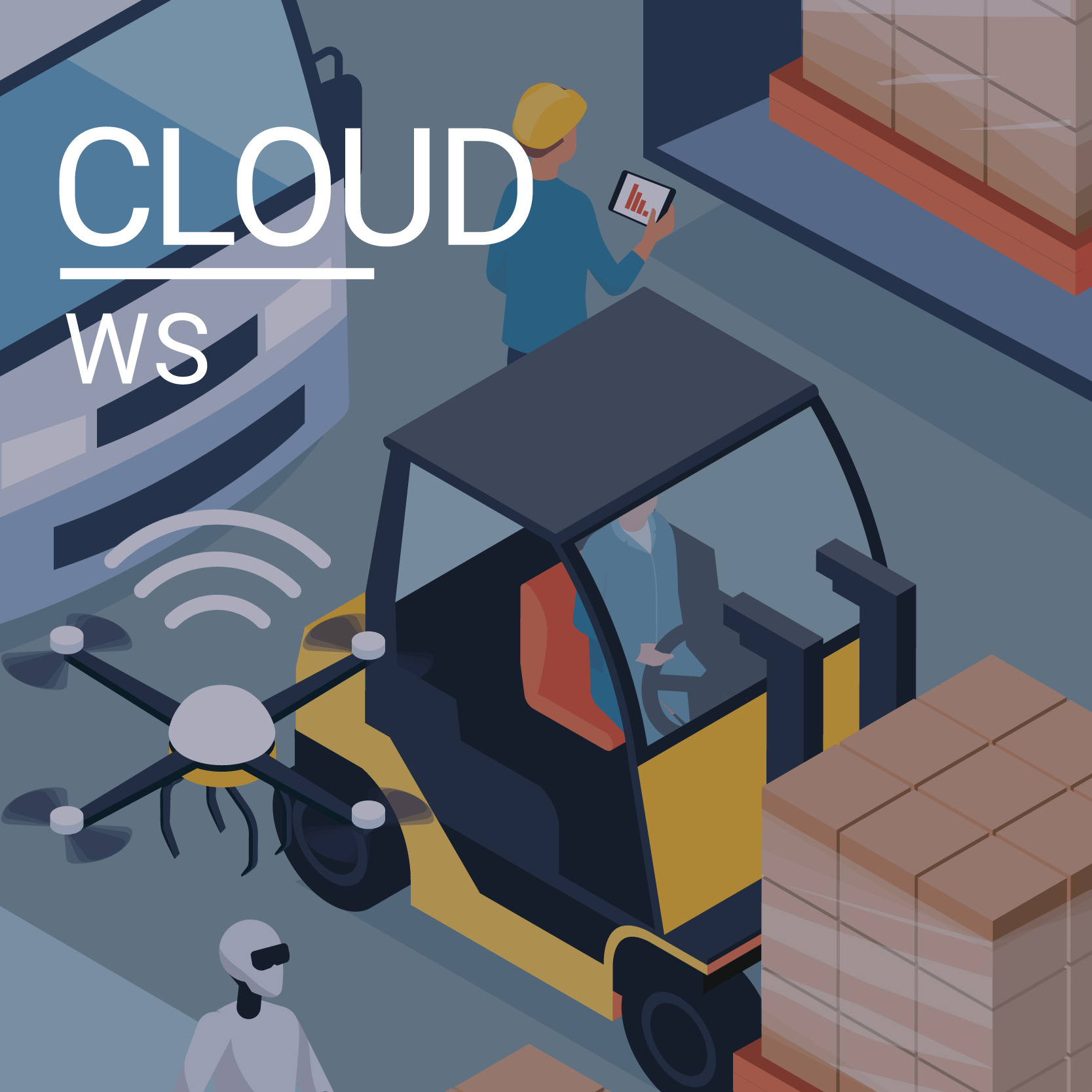 Blended Learning Integration von Cloud Computing in die Industrie 4.0